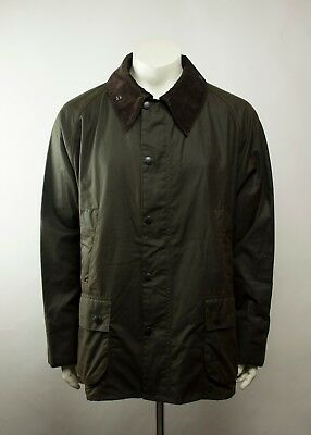 NWT Barbour Classic Bedale Waxed Jacket Olive ( Size 50 )