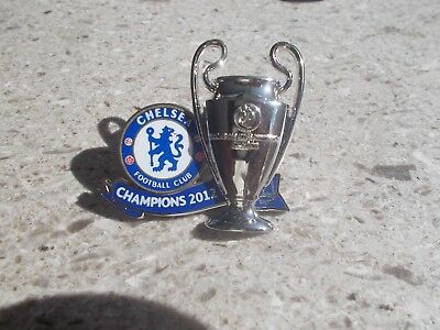 Chelsea London Champions of Europe Trophy Pin 2012