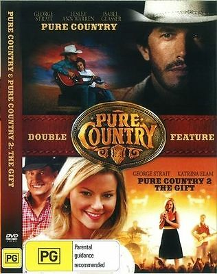 Pure Country & Pure Country 2 The Gift DVD 2 disc New Australia All Regions