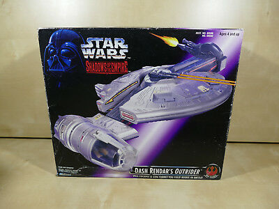 Star Wars Sote Dash Rendar´s Outrider Shadows Of The Empire Misb