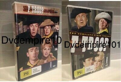 F Troop DVD Complete Series Seasons 1&2 Box Set New & Sealed Australia Region 4