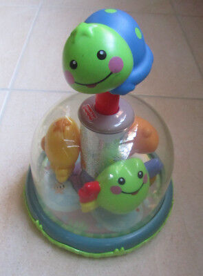 Fisher Price Friendly Firsts Classic Carousel Spinning Baby Toy