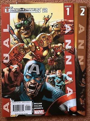 The Ultimates 2 Annual #1-2 (2005/2006 Marvel Ultimate) 2 Issue Lot