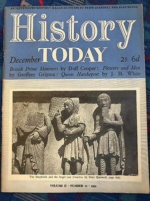 history today 1952 Volume 2 Issue 12 Brazil Chartres Queen Hatshepsut