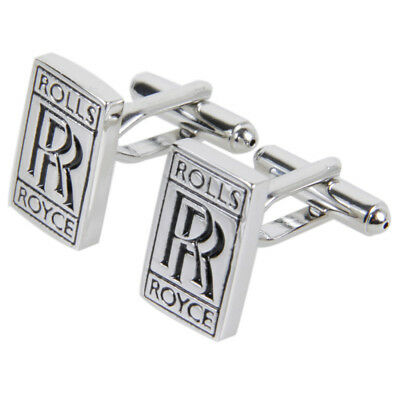 Cufflinks roll royce Type silver Gemelos bouton manchette ghost car fan wraith