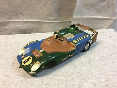 Slot Car 1/24 Scale Tamiya Die Cast Chassis Spring Suspension BB Axel Lot 2