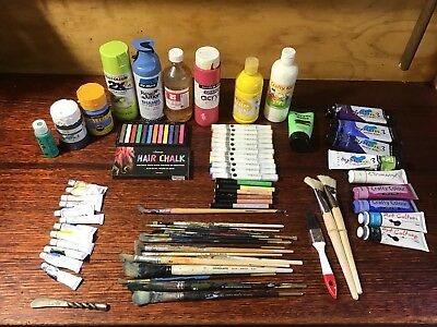Artists Paints, Brushes and Markers
