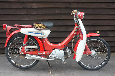 Honda PC 50 PC50 Little Honda 1969 *SUPER RARE* Barn Find