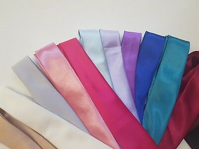 BOYS Classiic Neck TIES Satin Children's Accessories For Special Occasions Slim
