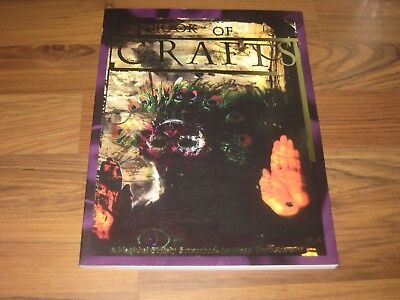 Mage The Ascension  Book of Crafts Sourcebook 1996 White Wolf 4011 VG