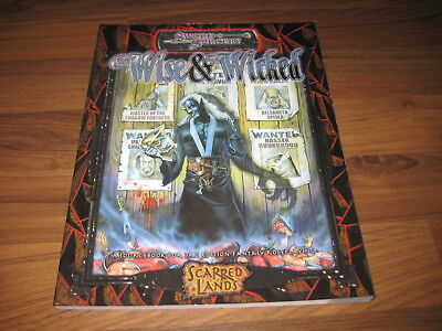 D&D  3.5 Scarred Lands The Wise & the Wicked  Sword & Sorcery d20 VG