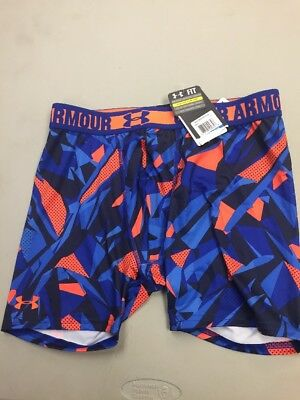 NWT UNDER ARMOUR UA Youth Boys Fitted Shorts Underwear 1236091 X LARGE