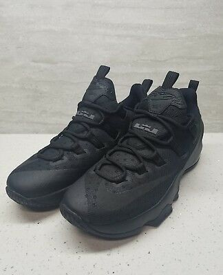 99033a84e8a New Nike Lebron James 13 XIII Low Mens Basketball Shoes - Blackout Black Sz  10.5