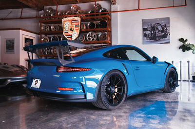 Porsche 911 2dr Coupe GT3 RS 991.1 GT3RS PTS Golf Blue 1 of 3