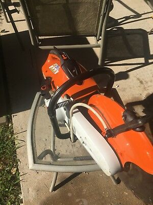 "Stihl Ts420 Gas Concrete Cut-Off Saw W/ 14"" Diamond Disk"