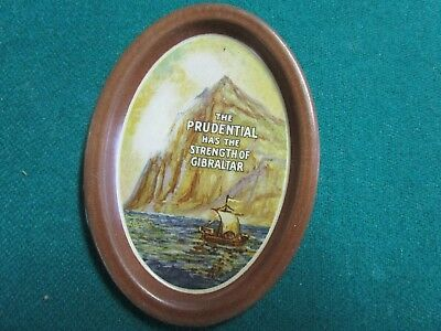 Antique Advertising Tip Tray. The Prudential.