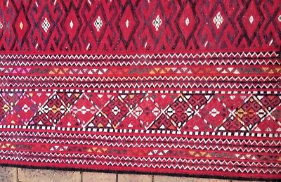 Persian/Turkman Kilim Authentic collectable Hand Knotted (235cm x 400cm)