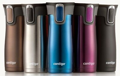 Contigo West Loop Autoseal Stainless Steel Travel Mug With Easy Clean Lid, 16 Oz