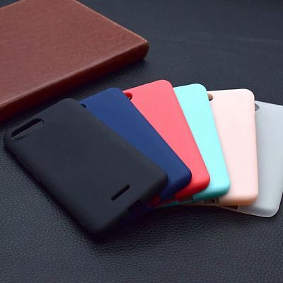 For Xiaomi Redmi 6 6A 6 Pro Matte Slim Soft Full Cover Shockproof Silicone Case