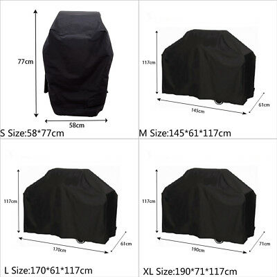 BBQ Cover Waterproof Barbecue Covers Garden Patio  Grill  Anti Dust Protecto New