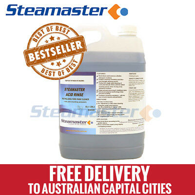 Carpet Cleaning Equipment Acid Rinse 5L