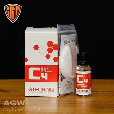 Gtechniq C4 Permanent Trim Restorer - 15ml - Car Plastic Dressing Protection