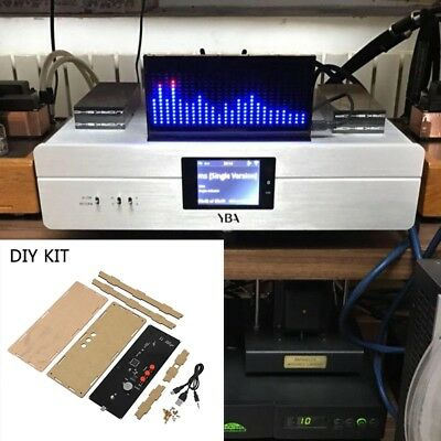DIY KIT AS1424 digital Level Meter Audio LED Display Flashing Spectrum Analyz M9