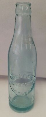 1910s Coca-Cola straight-side bottle Butler PA