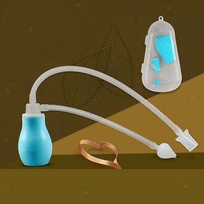 Baby Safety Nasal Aspirator Snot Nose Cleaner Vacuum Suction Nasal Absorption
