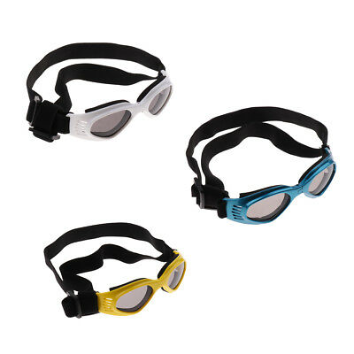 Foldable Dog Sunglasses - Puppy Cool Goggles UV Protection Eye Wear for Pets