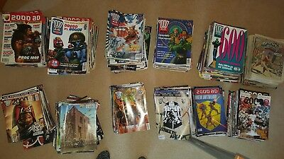2000AD Job Lot in Batches Or Complete Collection