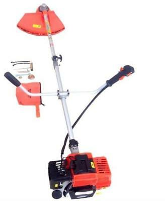Multi Function Garden Tool 2 in 1 Petrol Strimmer, Brush Cutter Chainsaw HQ New