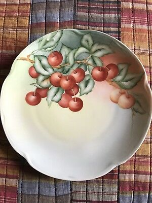 Vintage Hand Painted Plate (signed)