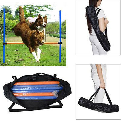 Pet Dog Outdoor Games Agility Training Exercise Jump Bar Equipment Jump High Toy