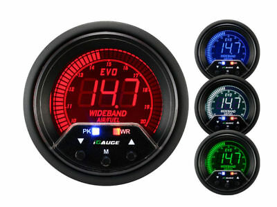 wideband lambda display Gauge EVO PREMIUM series