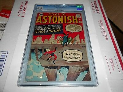 Tales To Astonish  #42 Cgc 4.5 (Early Ant Man)