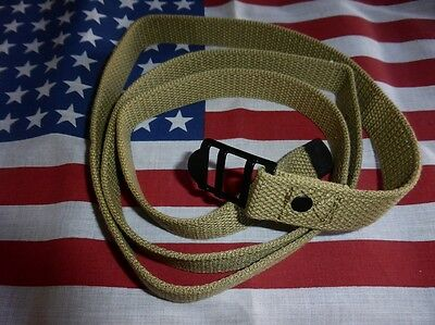 Sangle toile OD3 US multi usages 1m50 Jeep Dodge Gmc paquetage sac militaria WW2