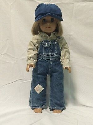 American Girl Doll Kit's Hobo Overalls Work Outfit (Doll not included)