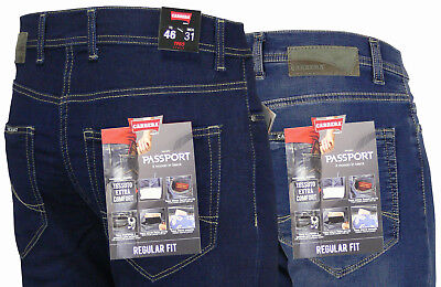 Jeans uomo New carrera Passport pantaloni denim cotone elasticizzato regular fit