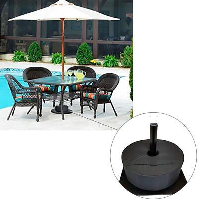 "18"" Round Umbrella Base Stand Outdoor Patio Waterproof Weight Sand Bag 10-15 kg"
