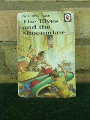 Vintage Ladybird book well loved tales The Elves and the Shoemaker 606D prie 30p