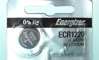 1x Battery Energizer ECR1220 CR1220 1220 3V Lithium Watch Button Cell