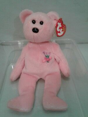 Ty Beanie Babies 2001 Mum Bear Retired Tags Mom Mothers Day Gift Toy Collectable
