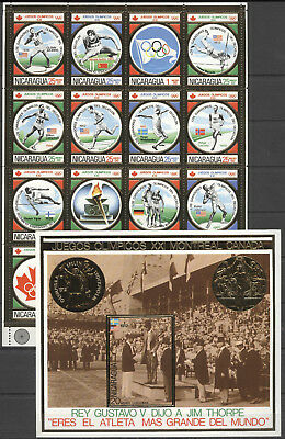 Olympiade 1976, Olympic Games, Sport - Nicarugua - ** MNH