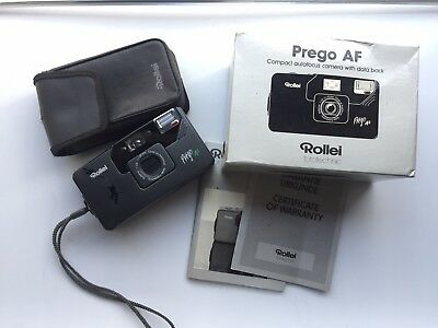 Rollei Prego AF F3.5 Prime Compact T4 KILLER * TESTED + BOXED