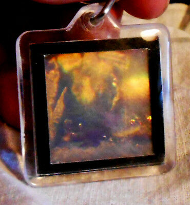 Hologram Keychain Abstract Advanced Holographics
