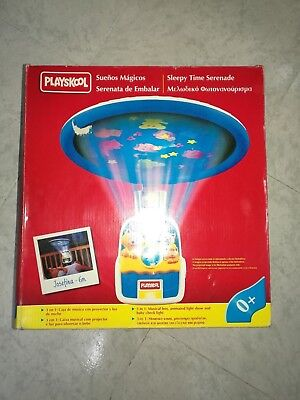 Playskool Sueños Magicos Musical Sleepy Serenade Night Time Bed Mib