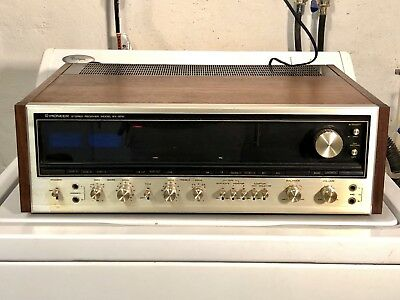 Vintage Pioneer SX 1010 Stereo Receiver Radio Music 1970s Heavy Duty Old School