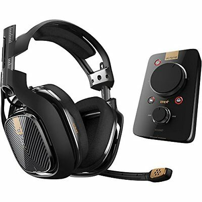 ASTRO Gaming A40 TR Headset + MixAmp Pro TR for PlayStation 4 New L