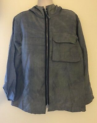Our Legacy Men's Coat Casual Linen Blend Jacket Size 50